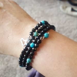 Jay King Jewelry - Authentic Jay King black spinel and turquoise brac